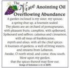 Oil of Overflowing Abundance